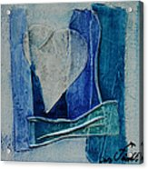 Blue Love 11 Acrylic Print