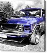 Blue Mach 1 Acrylic Print by motography aka Phil Clark
