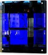 Blue Man Group Acrylic Print