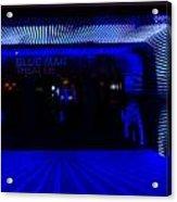 Blue Man Group Theater Acrylic Print