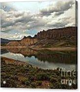 Blue Mesa Reservoir Acrylic Print