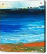 Blue Mist Over Nantucket Island Acrylic Print