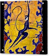 Blue Monkey No. 13 Acrylic Print