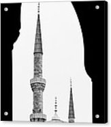 Blue Mosque 01 Acrylic Print