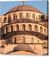 Blue Mosque Domes 02 Acrylic Print