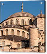Blue Mosque Domes 05 Acrylic Print