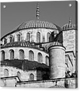Blue Mosque Domes 06 Acrylic Print