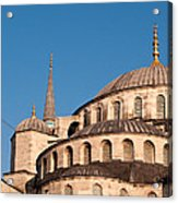 Blue Mosque Domes 07 Acrylic Print