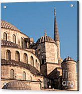 Blue Mosque Domes 08 Acrylic Print