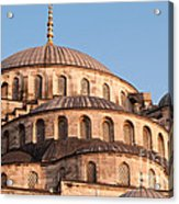 Blue Mosque Domes 09 Acrylic Print