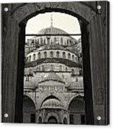 Blue Mosque Entrance Acrylic Print