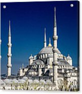 Blue Mosque In Istanbul Acrylic Print