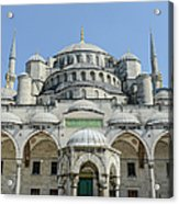 Blue Mosque In Istanbul Turkey Acrylic Print