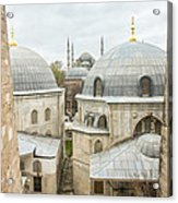 Blue Mosque View From Hagia Sophia Acrylic Print