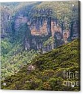 Blue Mountains Viewpoint Acrylic Print