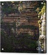 Blue Mountains Waterfall Acrylic Print