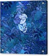 Blue - Natural Abstract Series Acrylic Print