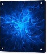 Blue Nebula Acrylic Print