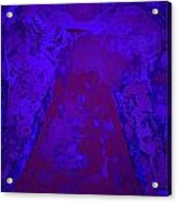 Blue Night Angel Acrylic Print