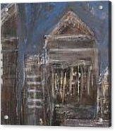 Blue Night Close Up 6 Acrylic Print