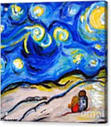 Blue Night Acrylic Print