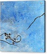 Blue Nile Lizard Acrylic Print