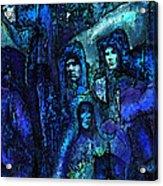 Blue O'clock Cloisters Acrylic Print