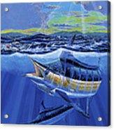 Blue Pitcher Off00115 Acrylic Print