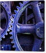 Blue Power Acrylic Print