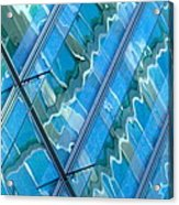 Blue Reflection 3 Acrylic Print