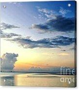 Blue Relax Acrylic Print