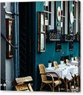 Blue Restaurant Acrylic Print