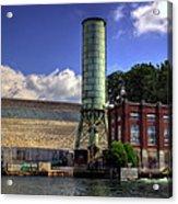 Blue Ridge Dam Acrylic Print