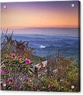 Blue Ridge Dawn Acrylic Print