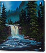Mountain Falls Acrylic Print