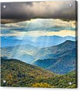 Blue Ridge Glory Acrylic Print