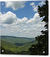 Blue Ridge Mountain Scenic - Craig County Va IIi Acrylic Print