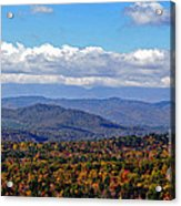 Blue Ridge Mountains 2 Acrylic Print