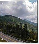 Blue Ridge Mountains And Blue Ridge Parkway Acrylic Print