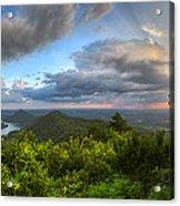 Blue Ridge Mountains Panorama Acrylic Print