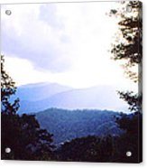 Blue Ridge Mountains Acrylic Print
