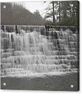 Blue Ridge Parkway Meandering Waters  Acrylic Print