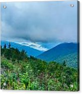 Blue Ridge Parkway National Park Sunrise Scenic Mountains Summer Acrylic Print