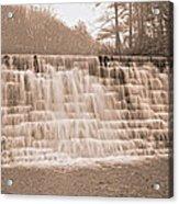 Blue Ridge Parkway Rainy Day Acrylic Print
