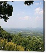 Blue Ridge Parkway Scenic View Acrylic Print