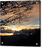 Blue Ridge Parkway Sunrise Acrylic Print