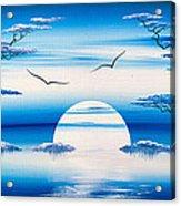 Blue Romance Acrylic Print