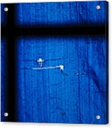 Blue Shade Acrylic Print