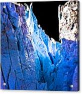 Blue Shivers Acrylic Print