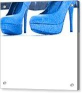 Blue Shoes Acrylic Print